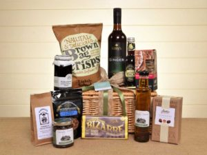 Non-alcoholic luxury food hamper