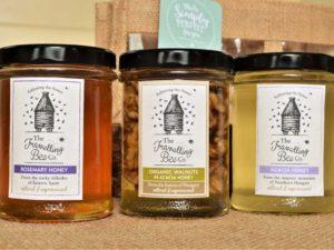 Travelling Bee Honey Gift Bag