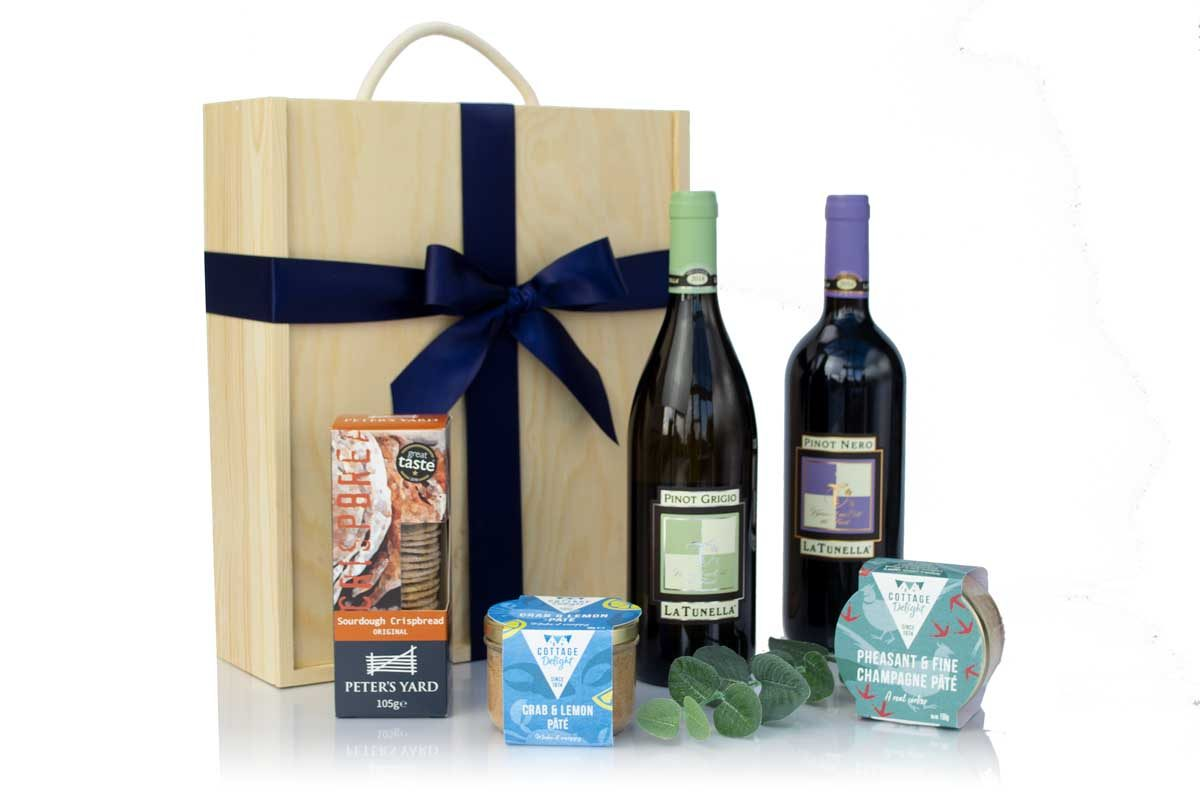 Langley Luxury Wine & Pate Box