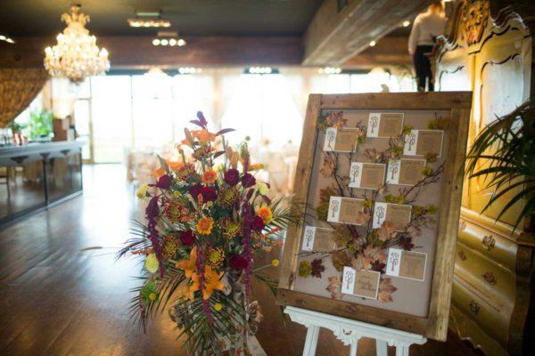 Autumn style Table Plan