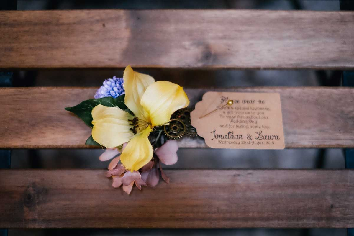 handmade wedding stationery