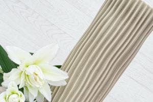 Beige Ceramic Vase 36cm
