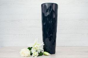 Ceramic Vase Midnight Blue 50cm