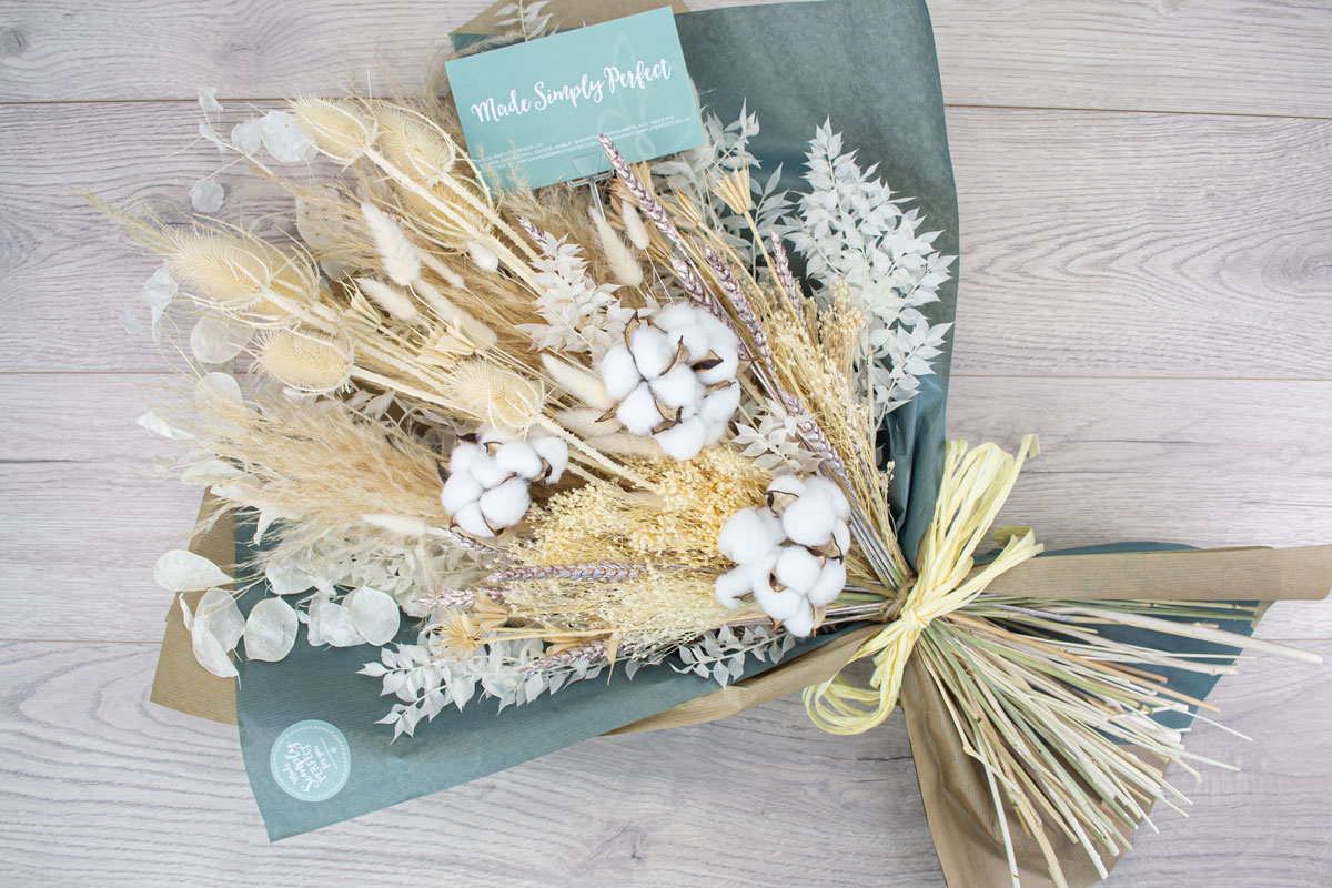 Buy Dried Flowers Bouquet Extra Large Made Simply Perfect