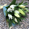 long stem lily bouquet