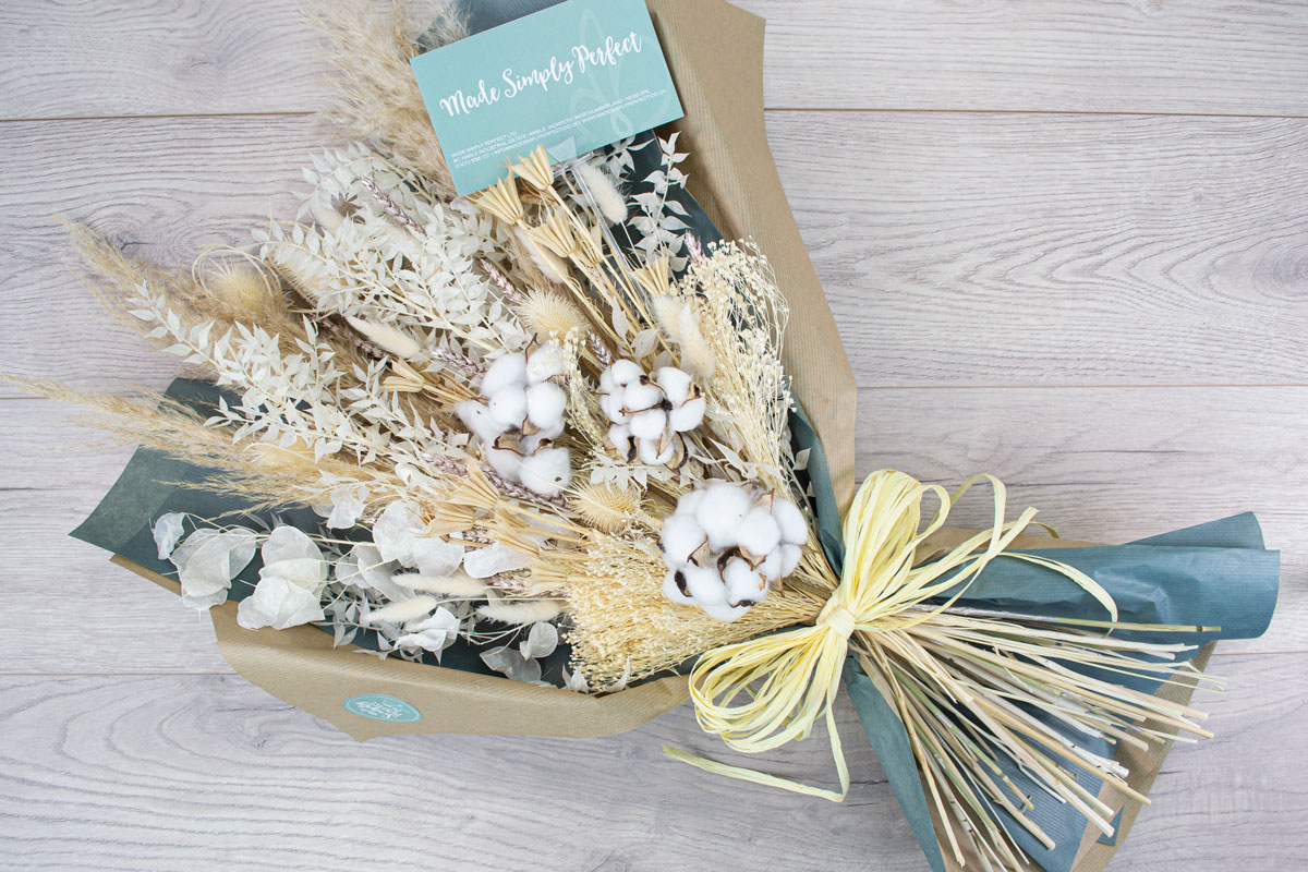 Large Dried Flower Arrangement Made Simply Perfect