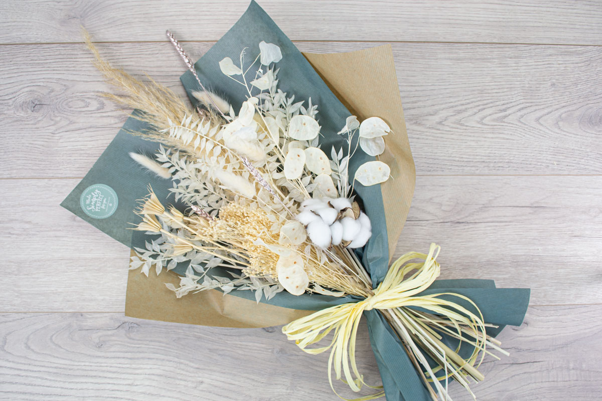 Dried Flowers Bouquet Small Made Simply Perfect